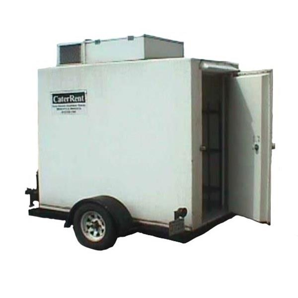 Refrigerated Trailer, 4' x 8' x 6 5' tall